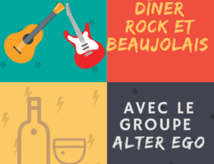 Diner rock et Beaujolais