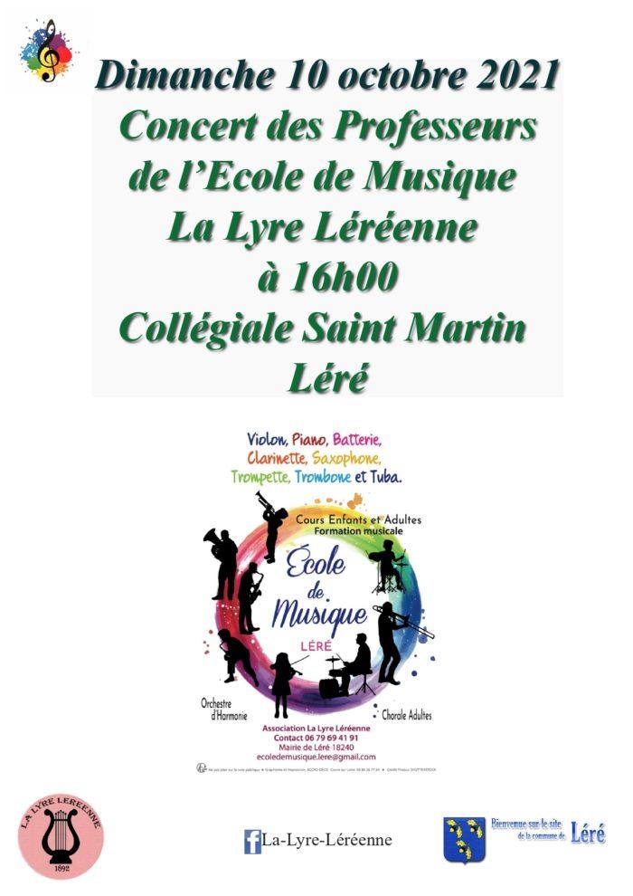 Concert des professeurs Léré