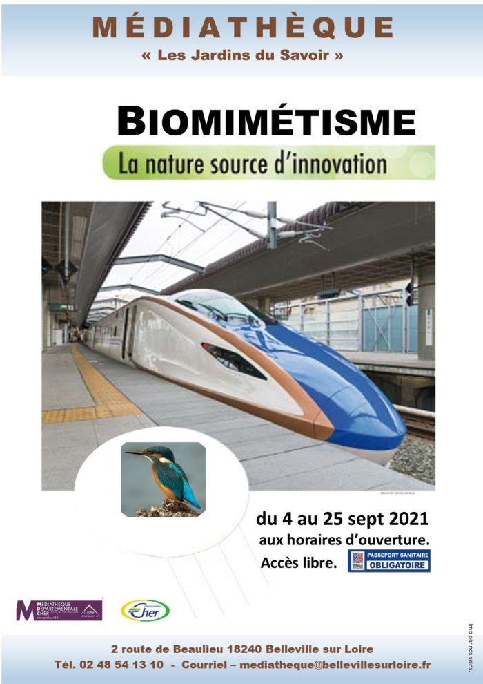 AFFICHE EXPO LE BIOMIMETISME (1)