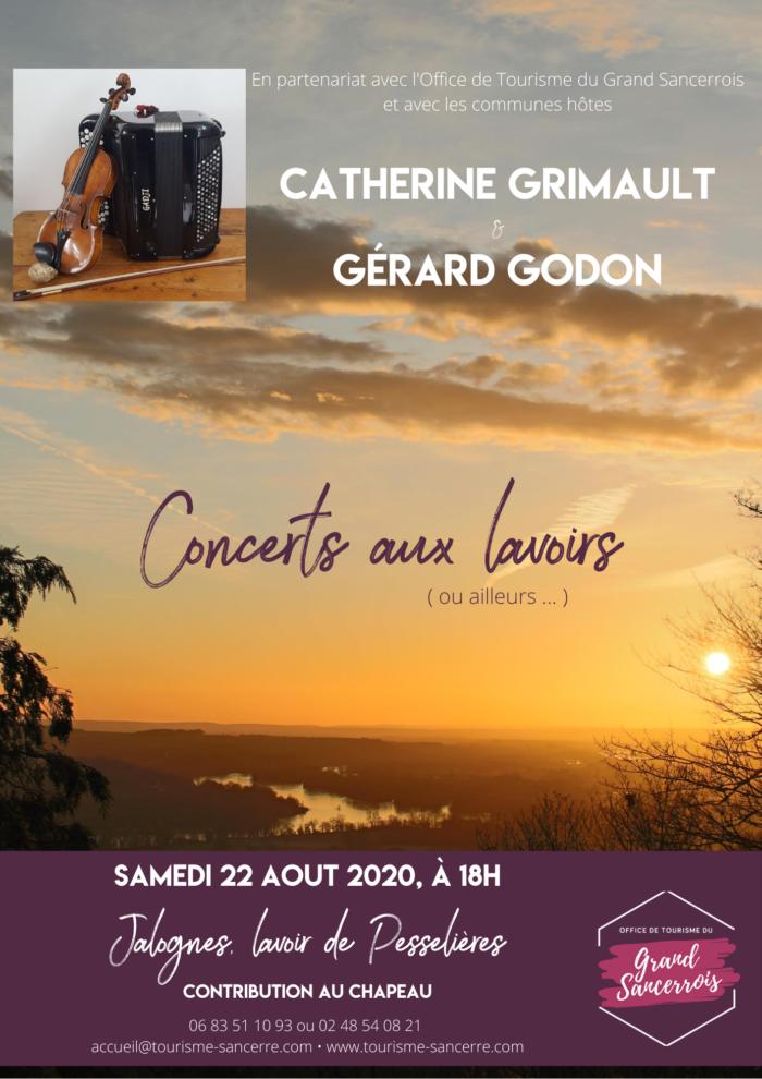 Concert aux lavoirs – Jalogne