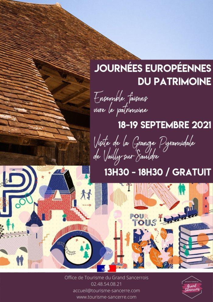 JEP / Grange pyramidale de Vailly-sur-Sauldre