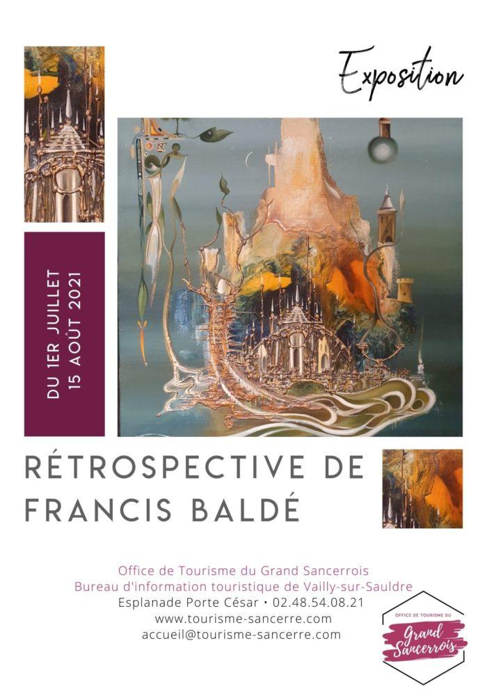 Affiche Rétrospective Baldé
