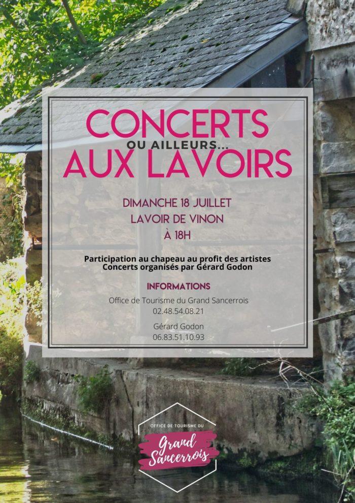 Concerts aux lavoirs – VINON