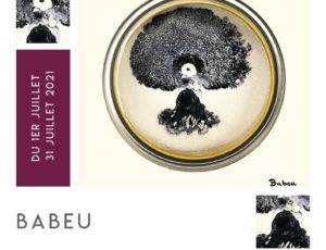 Affiche exposition Babeu