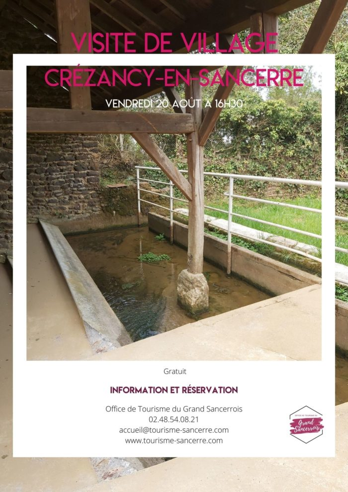 Affiche Crézancy en Sancerre