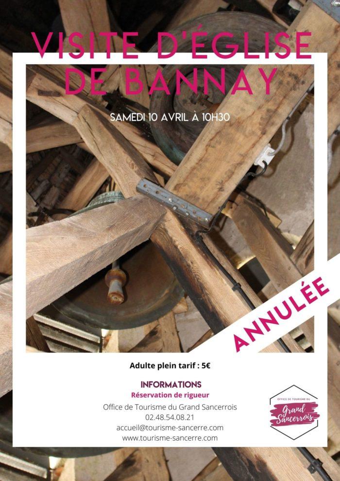 Affiche Eglise Bannay
