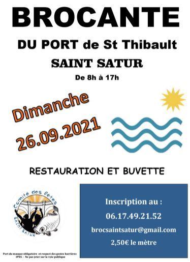 Brocante St-Thibault