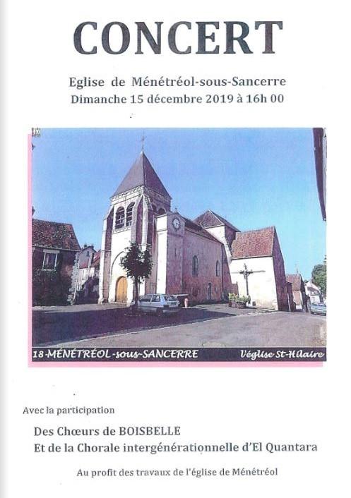 Concert—Menetreol-sous-Sancerre