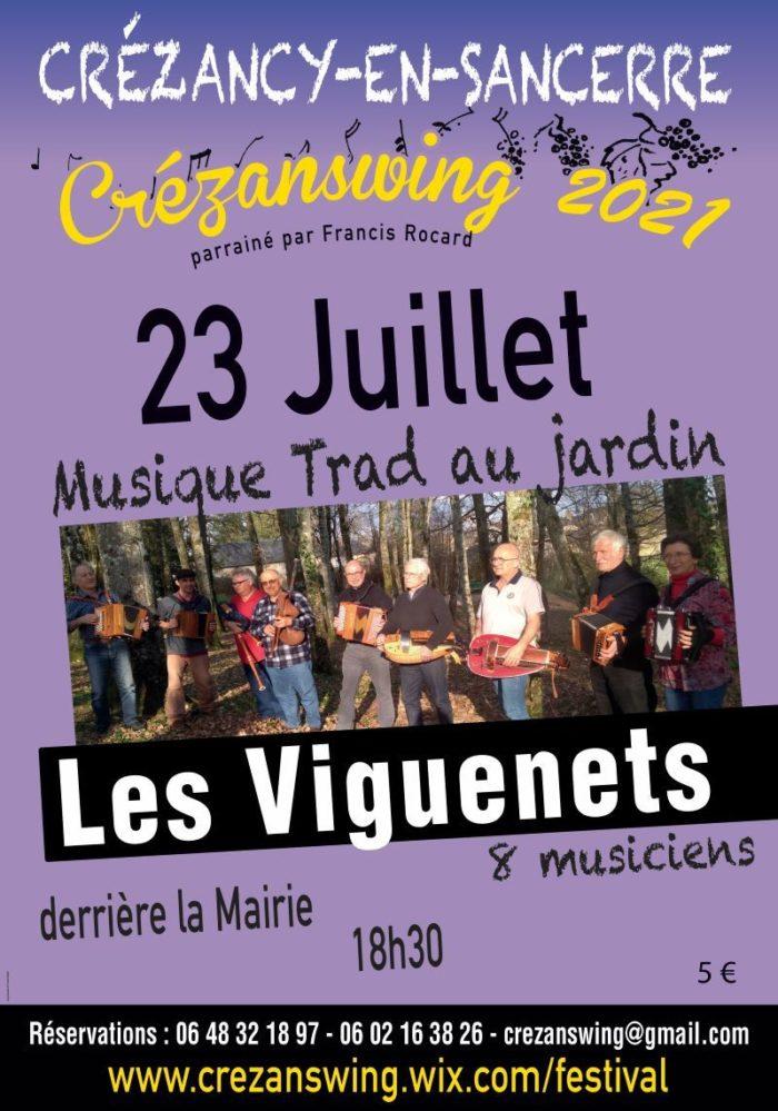 Concert Viguenets Crezanswing 23 juillet
