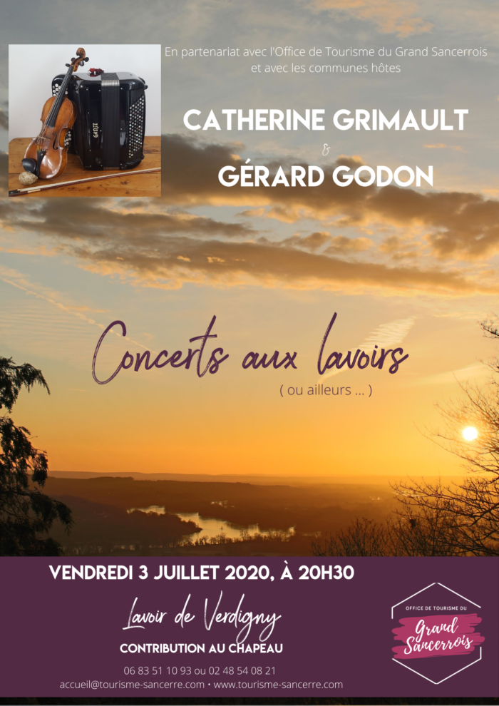 Concert aux lavoirs – Verdigny