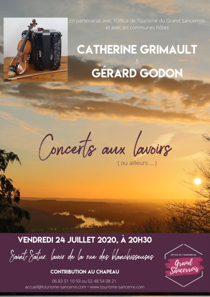 Concerts aux lavoirs, Saint-Satur 1
