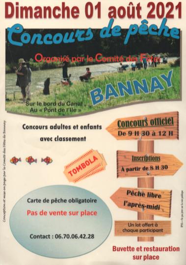 Concours de peche BANNAY