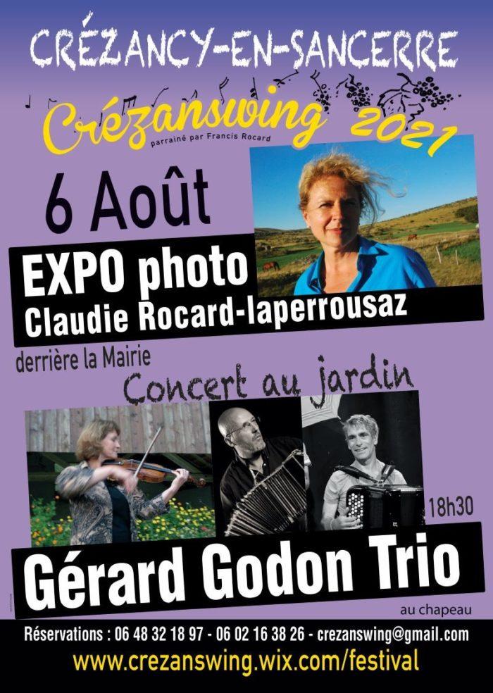 Expo concert Rocard Godon Crezanswing