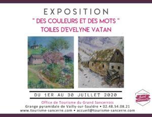Exposition Evelyne Vatan