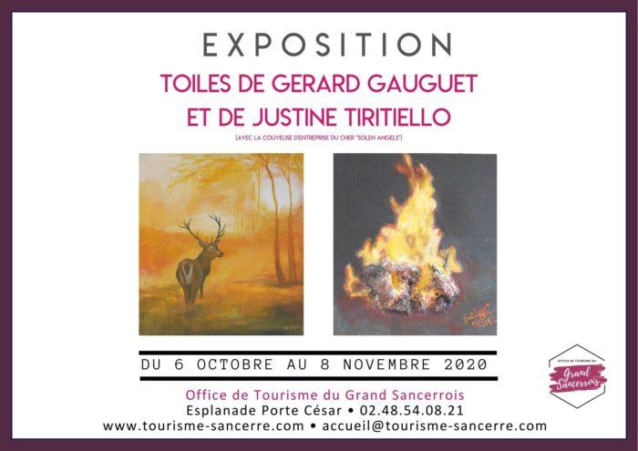 Exposition Gérard Gauguet et Justine Tiritiello
