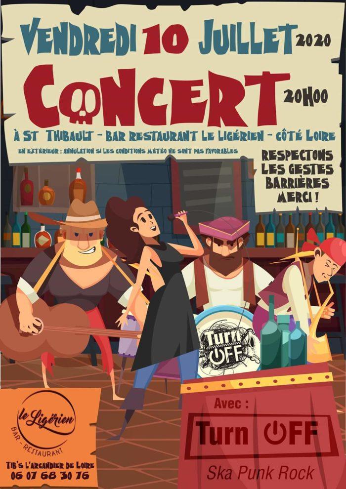 Affiche Ligérien / Concert