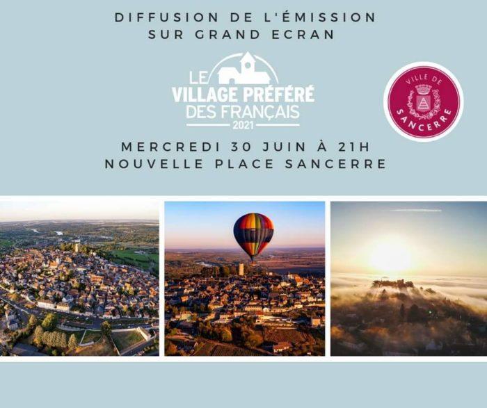 """Sancerre, """"village préféré des français"""""""