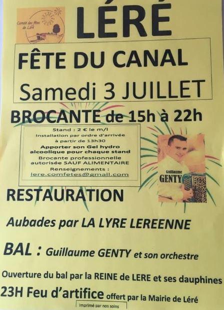 Fête du Canal Léré