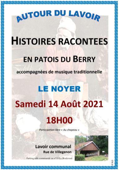 Histoires racontées en patois du Berry – LE NOYER
