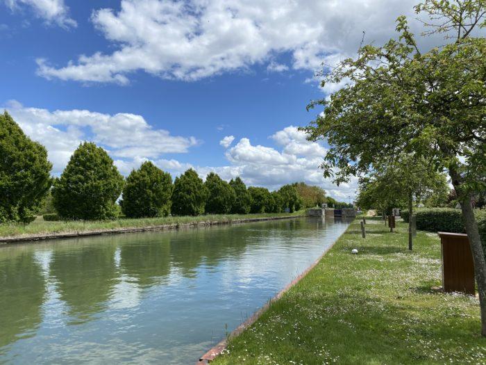 Bords de canal belleville sur loire