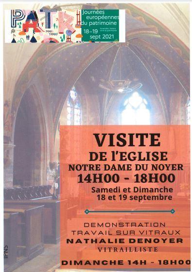 JEP Le Noyer église