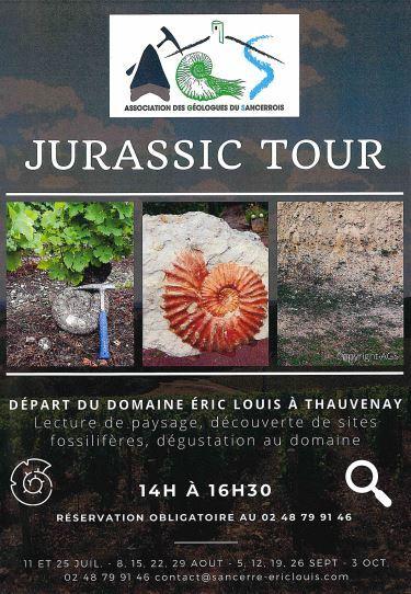 Jurassic Tour Eric Louis