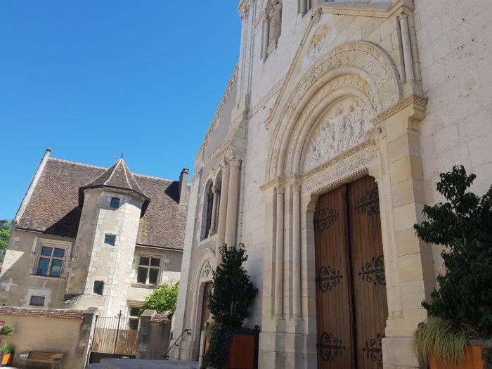 Sancerre – Eglise et maison Jacques Coeur