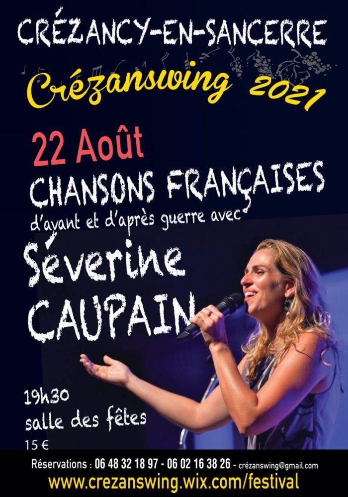 Severine Caupain concert Crezanswing 22 aout