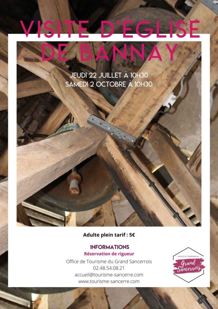 Visite église Bannay