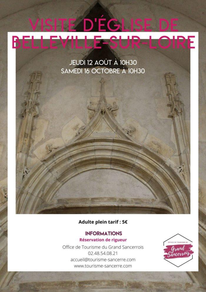 Visite église Belleville-sur-Loire