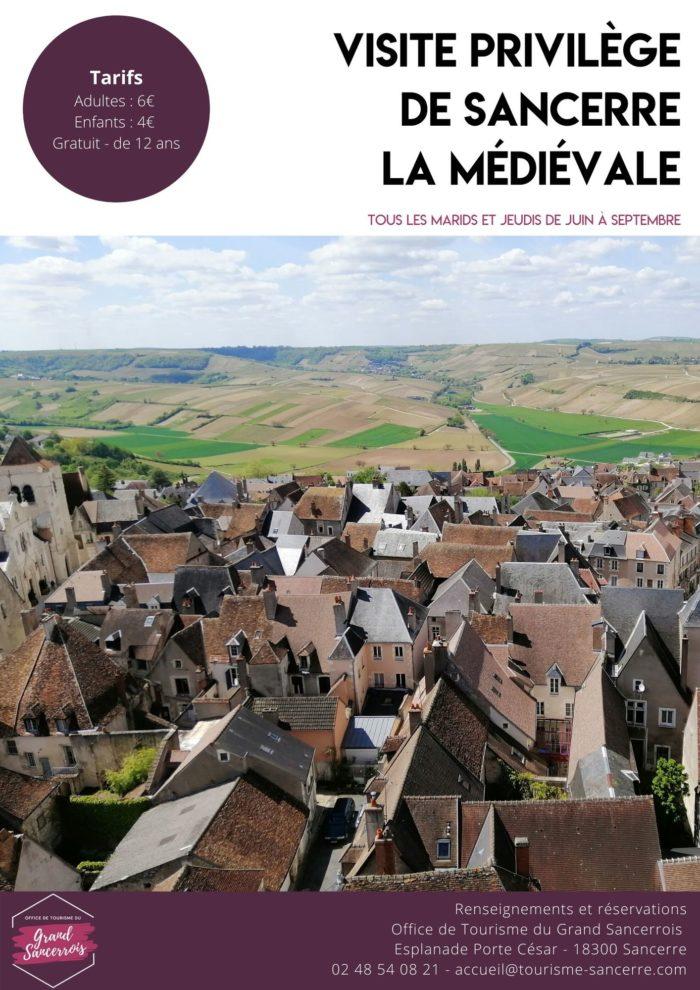 Visite privilège de Sancerre la Médiévale