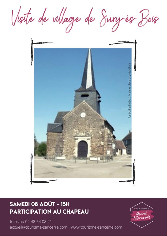 Visite village – Sury-ès-bois