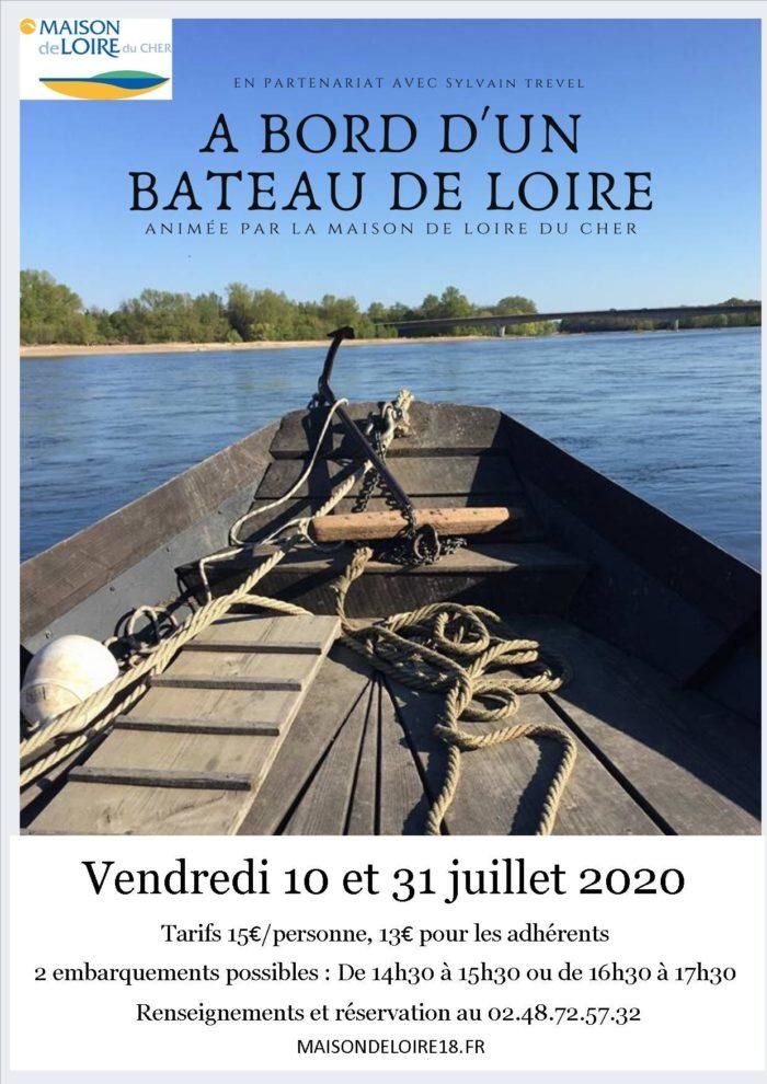 balade en Loire à bord du Raboliot