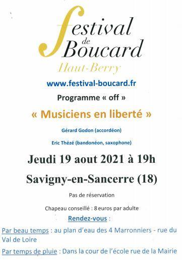 festival boucard savigny