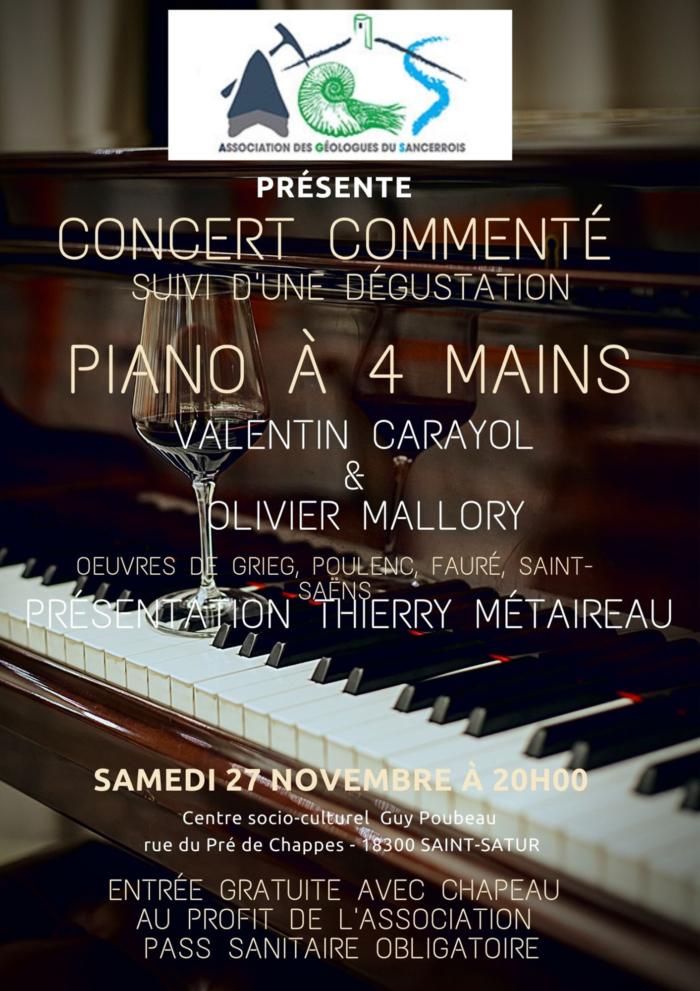 Concert Association Géologues du Sancerrois