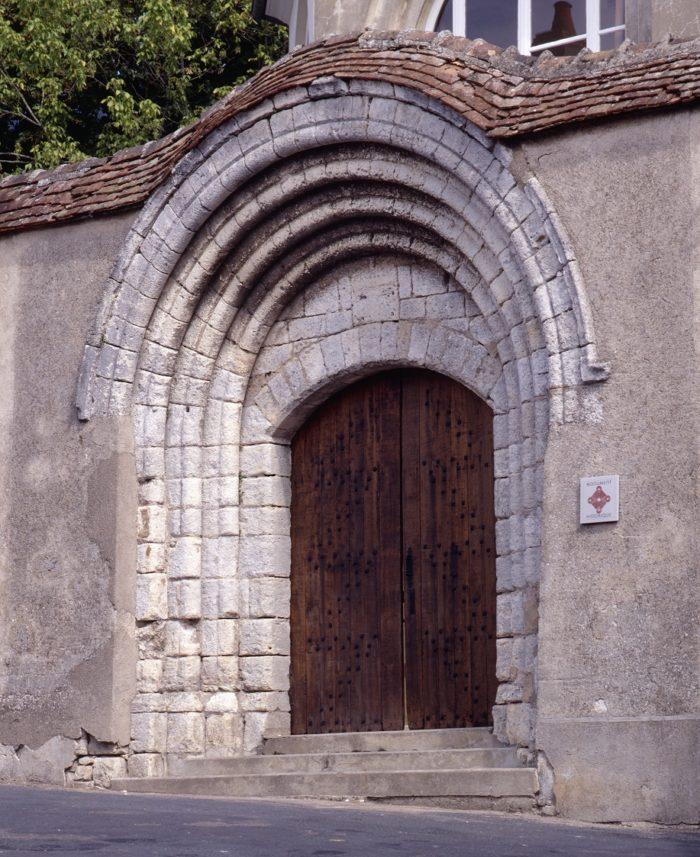 portail St pere la none Sancerre Photo Editions Gaud