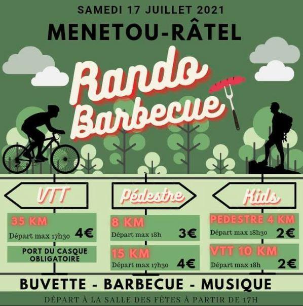 rando barbecue 17 juillet